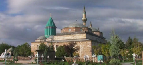 Rumi's Turquoise Dome